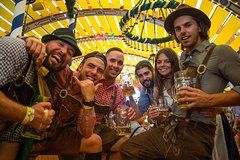 London to Oktoberfest Train - Camping Package Incl Breakfast and Dinner
