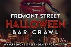 Fremont Street Las Vegas Halloween Bar Crawl