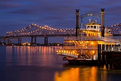2 Hour Mississippi River Dinner Jazz Cruise on the Paddlewheeler Creole Queen