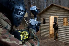 Full day paintball pass in West Glasgow
