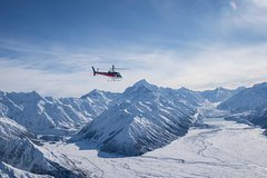 Imagen Mount Cook Mountains High Helicopter Flight