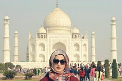 Agra Uttar Pradesh Private Same Day Taj Mahal Tour From Delhi 49899P17