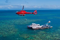 Cruise to Moore Reef Pontoon and Return Helicopter Flight from Cairns