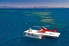Scenic Helicopter Flight to Moore Reef and Return Snorkeling Cruise from Cairns