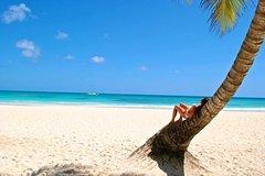 Coco árvore Praia vento Seaside Baseball Cap plana ao longo