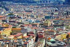 Naples tour by minivan plus walking guide