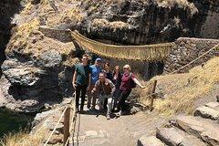 Imagen Full day tour of Qeswachaca Inca Bridge