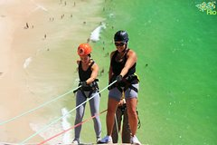 Imagen Private Tour: Rapelling and Trekking at Turtle Stone in Rio de Janeiro