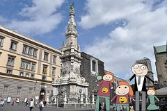 Family tour of the historical center of Naples