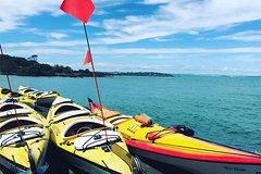 Imagen Auckland Rangitoto Island Guided Sunset Kayaking Tour