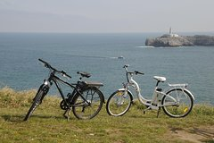 SIGHTSEEING GUIDED TOUR ELECTRIC- BIKE SANTANDER- ENGLISH GUIDE