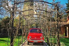 Private Vintage 500 Fiat tour in Tuscany