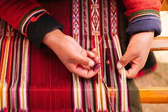 Imagen Intimate, Andean Weaving Tradition Including Huaypo Lagoon