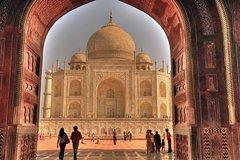 Agra Uttar Pradesh Full-Day Taj Mahal and Agra Fort Tour from Delhi 11115P1