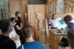 Wood Crafting Experience in Gjirokastra