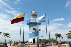 Imagen Recorrido por la ciudad de Guayaquil, incluido el faro del Cerro Santa Ana