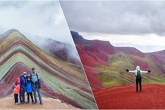 Imagen Rainbow Mountain and Red Valley tour