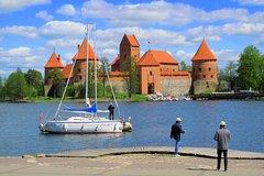 City tours,Vilnius Tour,Trakai Castle