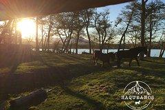 Imagen horseback riding in Escondido lake