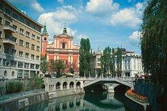 Ver la ciudad,Ver la ciudad,Ver la ciudad,Tours andando,Tour por Liubliana