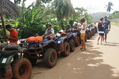 Adventures pure in ATV come and enjoy with us the beaty of samana Dom Rep