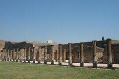 Tour of Herculaneum+Sorrento+Pompeii (Full Day)