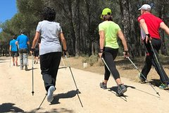 Nordic Walking in Madrid National Park
