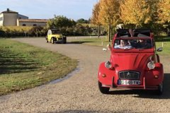Private 2CV Tour of the Medoc from Bordeaux Private Car Transfers