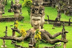 Private Tour: Vientiane City Tour Full Day with Buddha Park