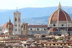 A sweet walking in Florence from Rome