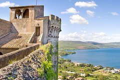 Day trip from Rome to Cerveteri necropoli Bracciano Lake & Castle w hot