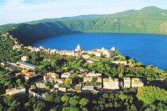 Roman Castles & Lakes Private Guided Tour with Wine Tasting Lunch & hotel pickup