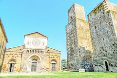 Day Trip from Rome to Tarquinia Etruscan Tombs Tuscania & Baths w hotel pickup
