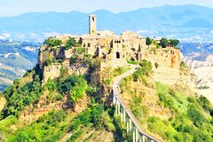 Day Trip from Rome to Dying Town of Bagnoregio & Orvieto w lunch &