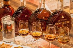 Shustov Cognac Winery Museum Private Tour with Tasting in Odessa