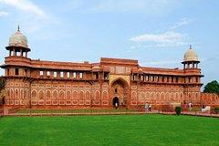 Same Day Taj Mahal Tour by AC Train Gatiman Express
