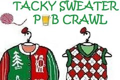Nashville Tennessee Tacky Sweater Holiday Crawl 35647P5