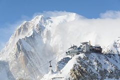 Monte Bianco and Courmayeur with hotel pick up from Milan