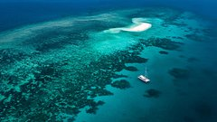 Outer Barrier Reef Sailing and Snorkeling Adventure from Port Douglas