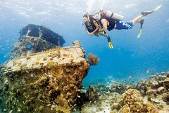 Honolulu Hawaii Certified Diver: 2-Tank Deep Wreck and Shallow Reef Dives 47712P1