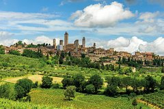 Private Transfer: Florence Hotel to San Gimignano Hotel