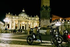 Rome by Night-Ebike tour with Food and Wine Tasting