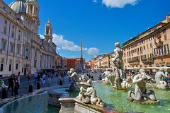 Free tour of Fountains and squares of Rome
