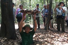 Private Cu Chi Tunnels and Ho Chi Minh City Highlights From Nha Rong Port