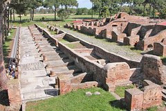 Guided Tour of Ancient Ostia from Fiumicino Airport with Private Van Pickup