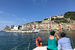 Cinque Terre Boat Tour with Wine and Food