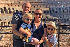 Colosseum Forums & Ancient Rome Private Tour for Kids & Families wi