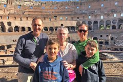 Skip-the-Line Kid-Friendly Colosseum & Roman Forum Semi-Private Tour by