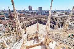 Skip-the-line Milan Duomo Cathedral Guided Tour with Terraces & Roof To