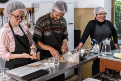 Imagen Cooking classes with a social touch